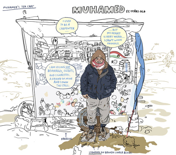 Olivier Kugler: The Plight of Syrian Refugees