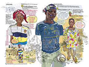 Olivier Kugler: Burkina Faso visual report